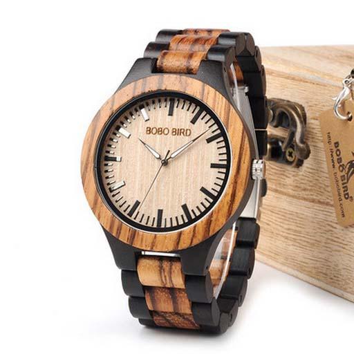 ceas barbatesc din lemn