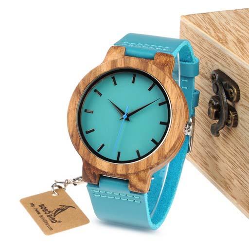 ceas dama elegant din lemn