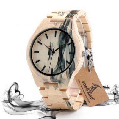 ceas lemn bobo bird