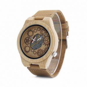 ceas din bambus
