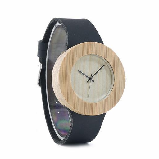 ceas casual lemn