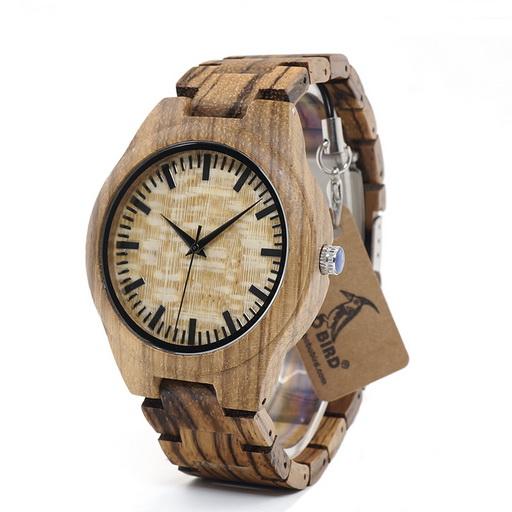 ceas de bambus