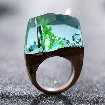 inel de lemn agua
