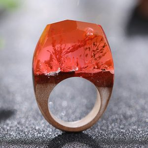 inel lemn orange