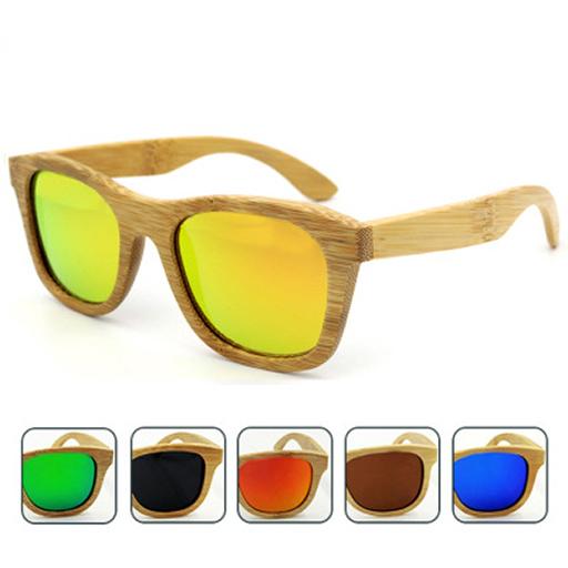 ochelari polarizati rama lemn