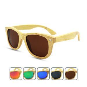 ochelari soare din bambus