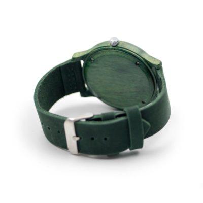 ceas de mana verde lemn