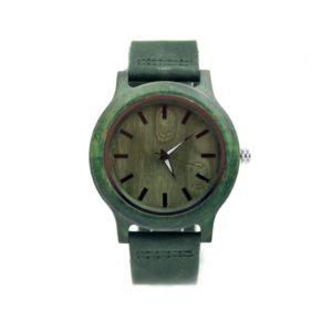 ceas lemn verde