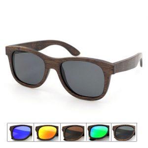 ochelari din lemn maro