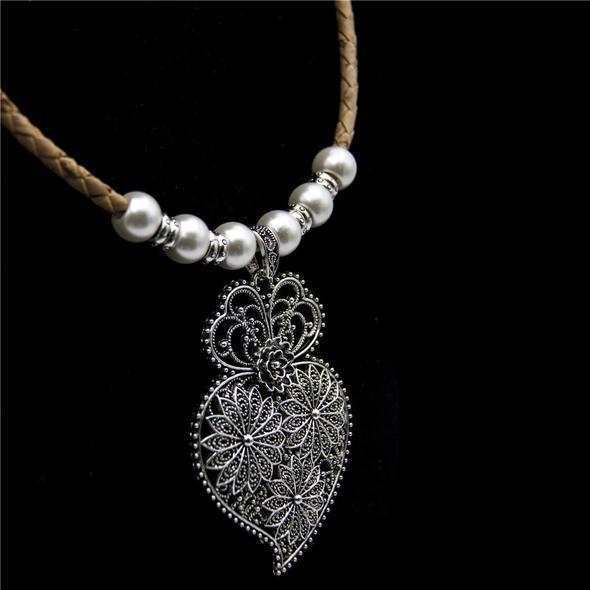 colier pluta perle