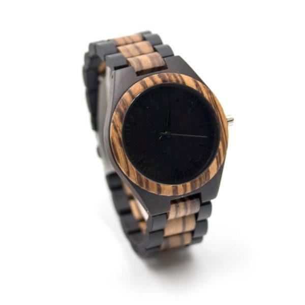 Ceas Zebra Wood