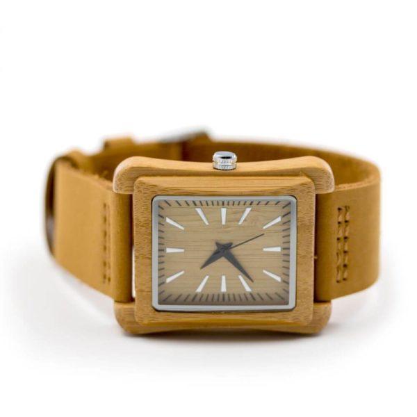 Ceas din lemn Square Time