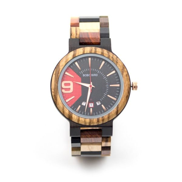 ceas de lemn barbati