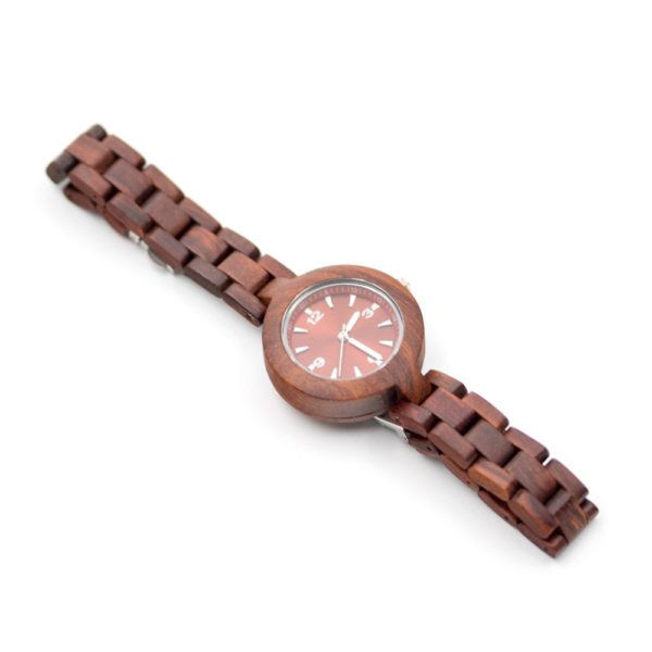 ceas de lemn dama
