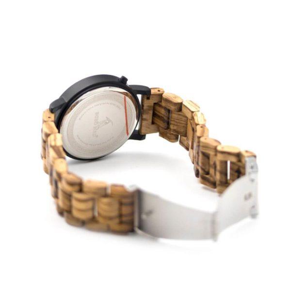 ceas de mana cadran lemn