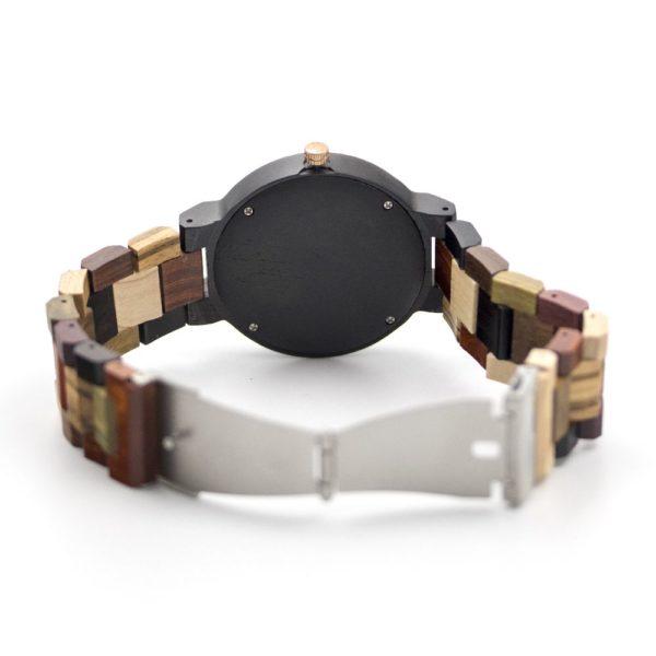 ceas de mana din lemn
