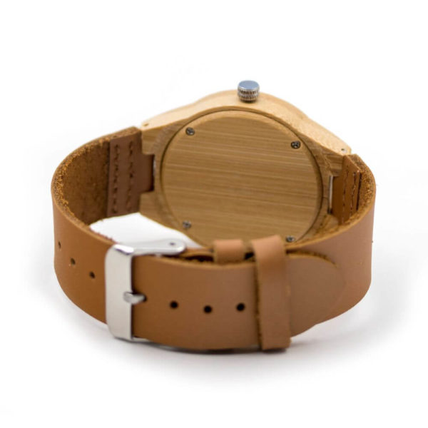 ceas de mana pluta lemn