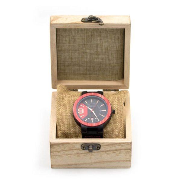 ceas din lemn cadou