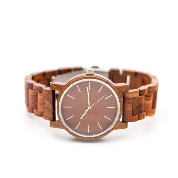 ceas lemn exotic
