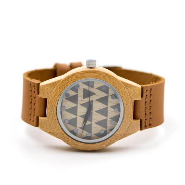 ceas lemn pluta