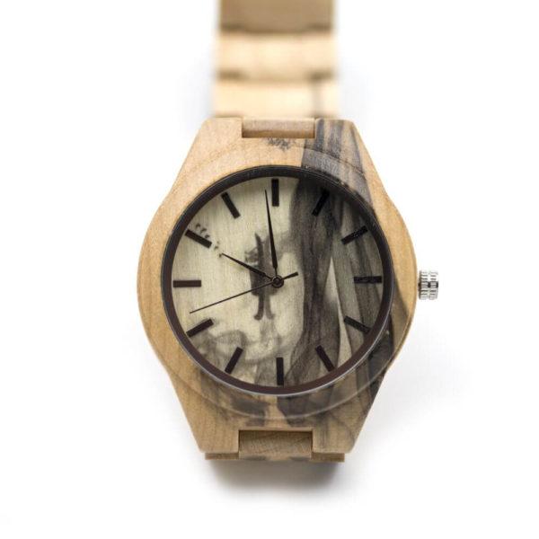 ceas mana din lemn
