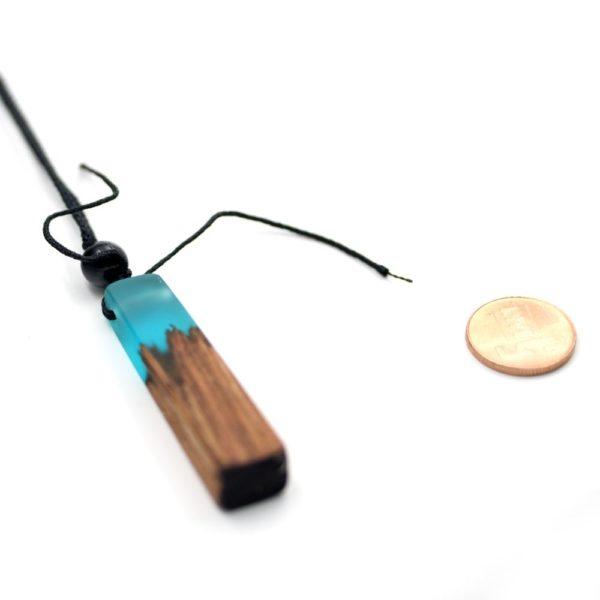 colier de lemn