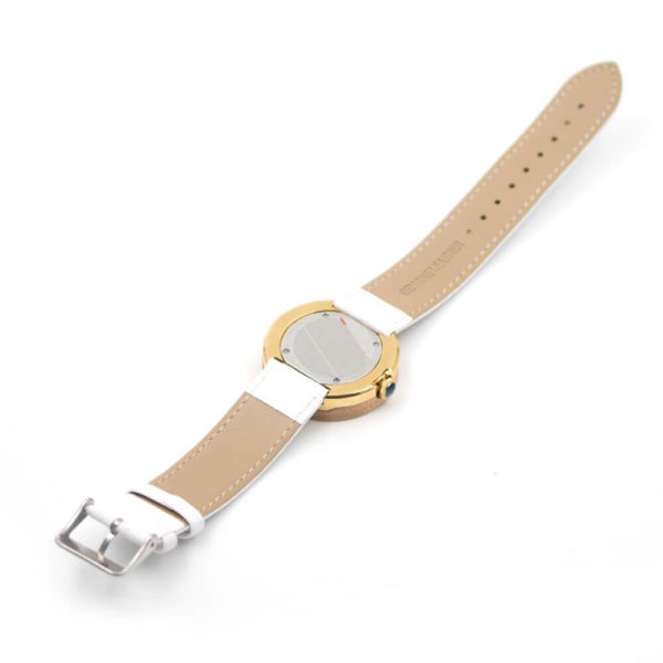 curea ceas alb dama