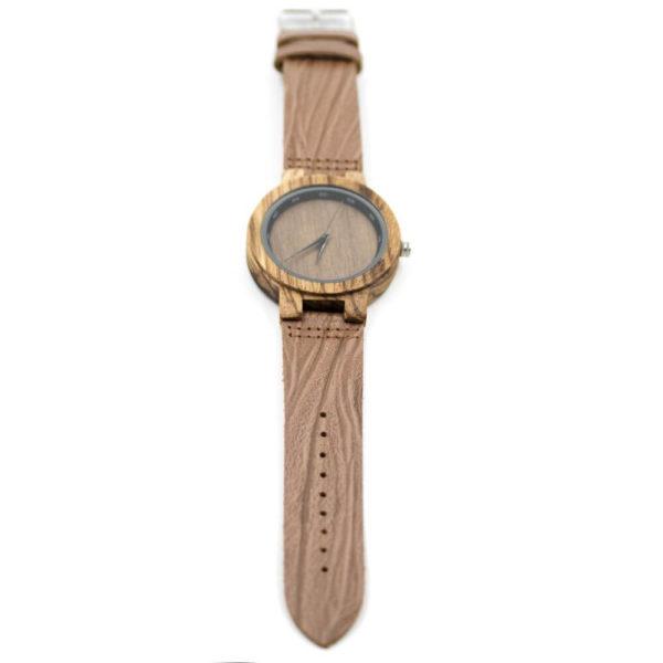 curea de piele ceas lemn