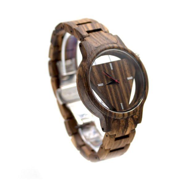 ceas casual de lemn