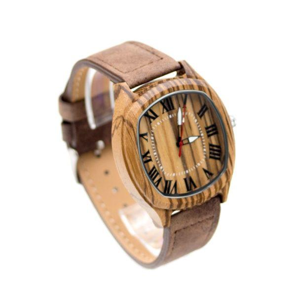 ceas de mana carcasa de lemn