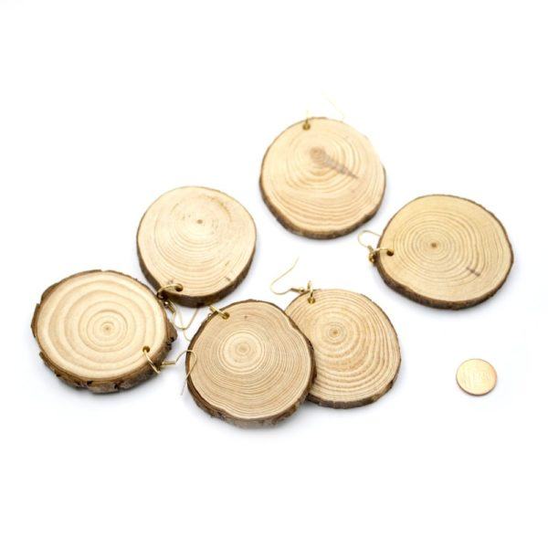 cercei de lemn