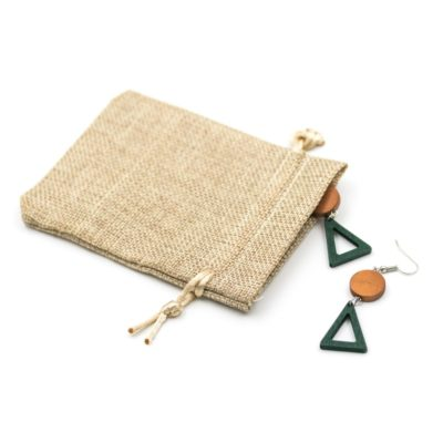 cercei triunghi handmade