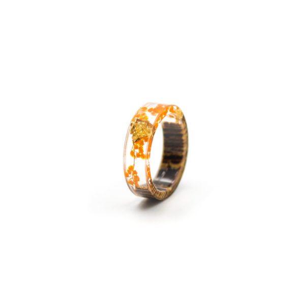 inel din lemn rasina