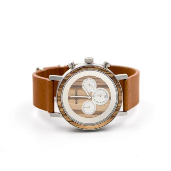 Ceas din lemn eco-friendly