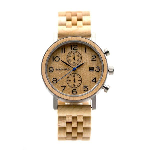 ceas Cronograf cu doua subcadrane