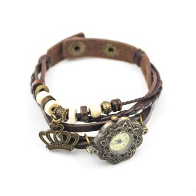 ceas dama vintage maro