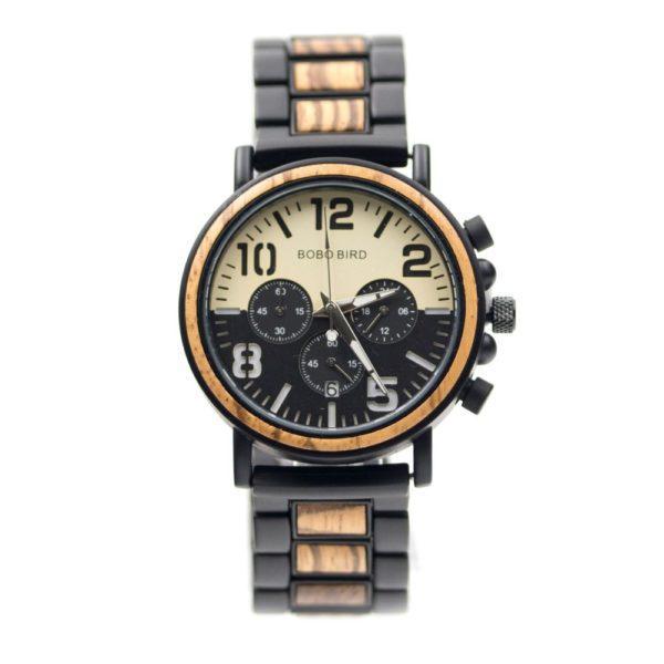 ceas din lemn cronograf