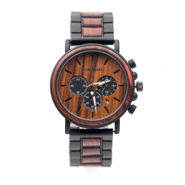ceas lemn Cronograf