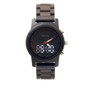 ceas lemn digital