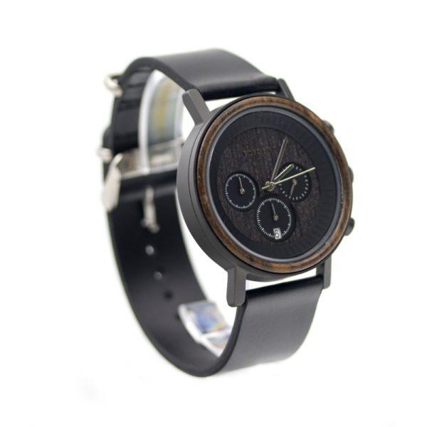 ceas negru barbatesc