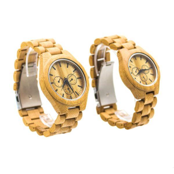 ceasuri lemn cuplu