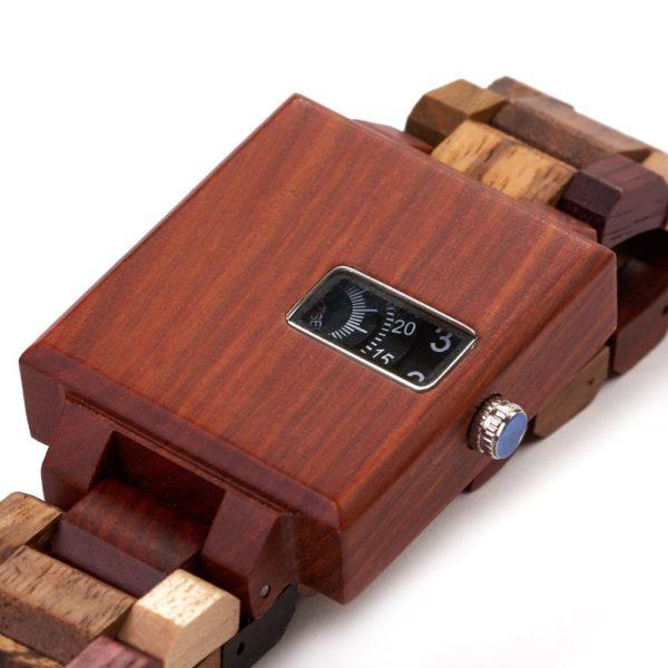 cadran ceas lemn