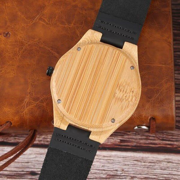 carcasa ceas lemn