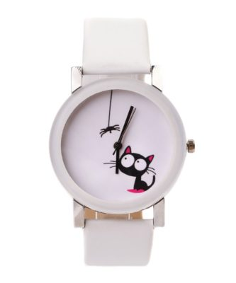 ceas alb dama