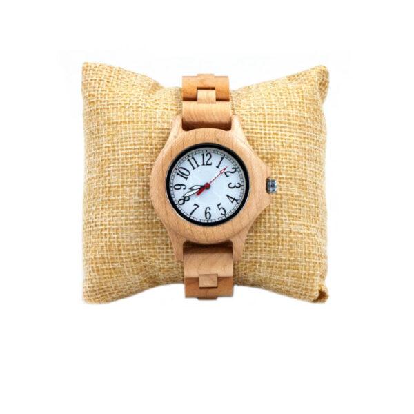 ceas dama lemn cadou