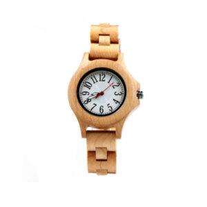 ceas de dama din lemn