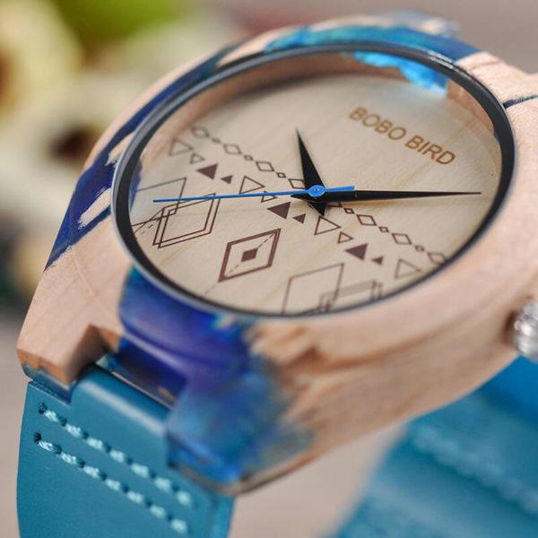ceas de mana rasina lemn