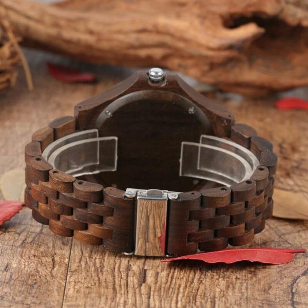 ceas mana lemn natural