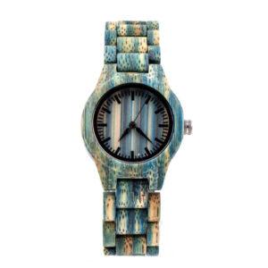 ceas din lemn anissa