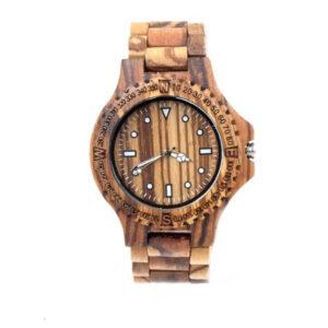 ceas inedit din lemn